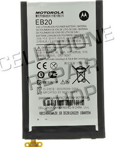 New Verizon Droid Razr Battery Replacement Motorola EB20 Internal Battery OEM