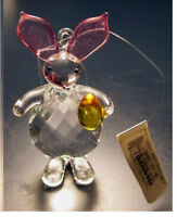 New with tag 3 1/4 inch Crystal Bunny Rabbit