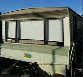 12 foot wide static caravan - good condition - everything works - Birchington