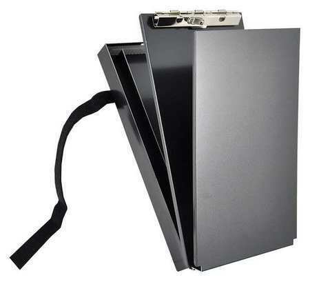 "Saunders 12206 6"" X 11"" Portable Storage Clipboard, Black"