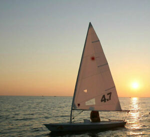Laser 4.7 sail for this summer