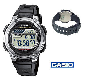 Casio Midsize Sport Watch Digital W212H