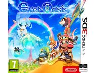 Ever Oasis New Nintendo 3DS game