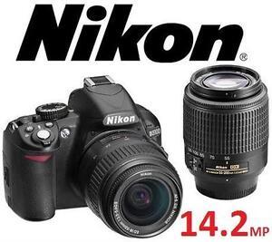 NEW NIKON D3100 DSLR CAMERA KIT with 18-55mm and 55-200mm Lens - ELECTRONICS - DIGITAL SLR CAMERAS 105868314