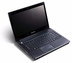 Emachines E732Z Laptop Notebook (intel i5, 4GB, 160GB)