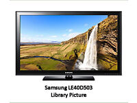 Samsung 40 inch LCD Television with Stand, Model LE40D503, Full HD 1080p, USB, 2 x HDMI