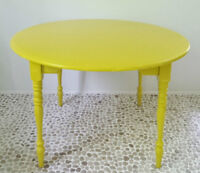 VICTORY GARDEN Dining Table Antique Vintage