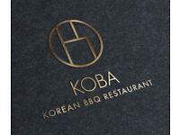 KOBA - Floor Staff for part or full time
