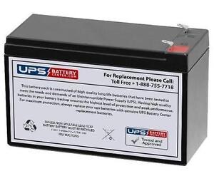 12V 7.5Ah Sealed Lead Acid Battery