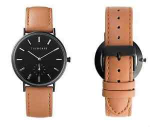BRAND NEW Genuine The Horse Classic Black and Tan Leather Watch Charlestown Lake Macquarie Area Preview