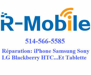 reparation cellphone iphone ipad samsung LG...LCD screen repair