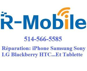 Réparer iPhone Samsung LG Nexus Blackberry Sony repair unlock