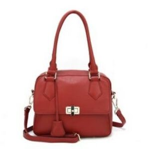 new della designed leather satchel