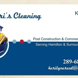 Keris Cleaning  post construction & commercial cleaning