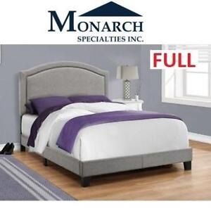 NEW MONARCH GREY BED FRAME FULL I5936F 189326585 SPECIALTIES BEDROOM HOME FURNITURE DECOR
