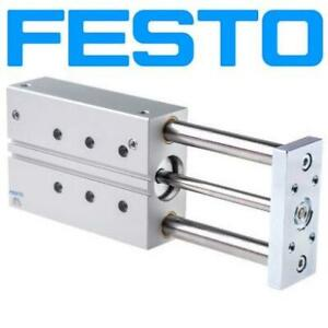 NEW FESTO PNEUMATIC GUIDED CYLINDER DFM-40-200-P-A-GF 247755962 40MM BORE 200MM STROKE DOUBLE ACTING