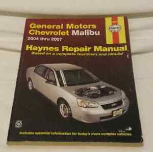 Haynes Repair Manual: General Motors, Chevrolet Malibu Edmonton Edmonton Area image 2