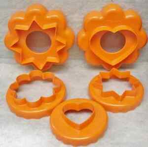 Tupperware Stacking/Nesting Cookie & Biscuit Cutters