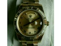 Rolex Day Date Champagne Gold 41mm + Box, Papers