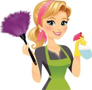 House cleaner available for Peel 7 days a week with great $$$$