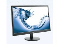 27'' AOC E2770SHE Monitor for sale, for home or office, NEW
