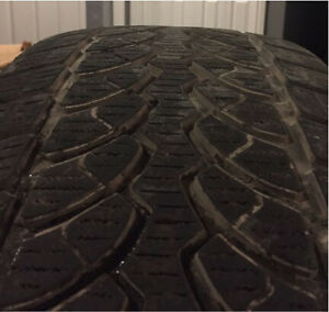 Blizzack 245/40/19 winter tires off rims Regina Regina Area image 5