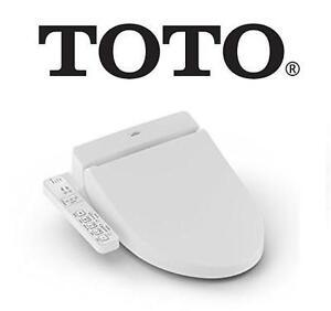 NEW OB TOTO ELONGATED WASHLET - 123076093 - BIDET SEAT OPEN BOX