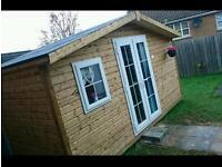 Log cabin / beauty salon / summer house
