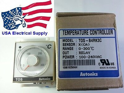 Tos-b4rk3c Autonics Temperature Controller With 8pin Base