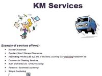 Reliable Lady & Man with a Van / House Clearances / Cleaning / Odd Jobs