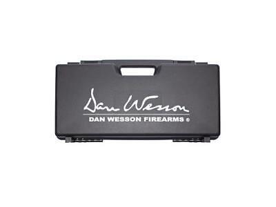 ASG Dan Wesson Airsoft Revolver Case Black DW Logo Hard Plastic 17365