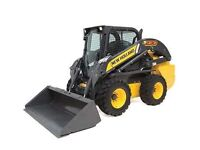 SKIDSTEER FOR RENT BY DAY. DYI LANDSCAPING