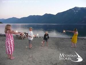 For Sale Desired Kootenay Lake Front Lot in an Exclusive Resort
