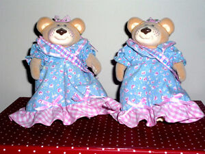 2 Furskins Bears .. Like New .. In excellent condition..Vintage
