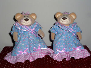2 Furskins Bears .. Like New .. In excellent condition..Vintage Cambridge Kitchener Area image 2