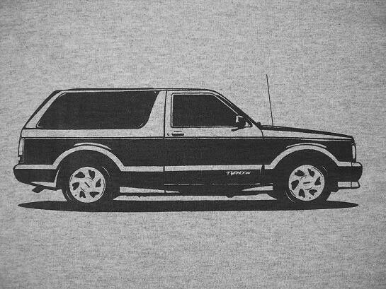 show sport parts for GMC Typhoon