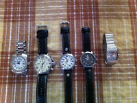 Swiss Legends, Invicta, Nixon watches