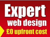 Expert Web Design, 100% Satisfaction Guaranteed, Ecommerce, Wordpress ,magento web design