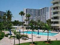 For sale condo 2 bdrm 2 bth across str to beach-Fort Lauderdale