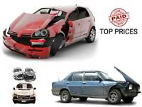 Cars vans and 4x4 WANTED TOP PRICES PAID