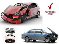 Wanted all scrap vehicles
