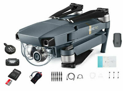 DJI Mavic Pro Drone Super Combo Kit with 4K HD Camera