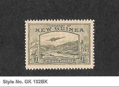 NEW GUINEA 1939 BULOLO AIRMAIL ONE POUND HIGH VALUE MNH