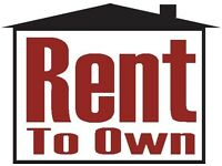wanted rent to own house,