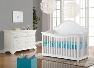 Jessie Baby crib and change table nursery set - sale -