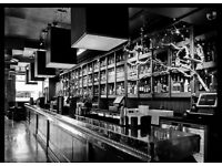 Efficient, Hardworking BAR SUPPORT staff needed. Flexible PT/FT hours- busy Fulham Bar, SW6