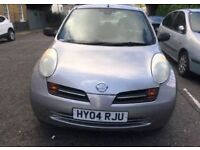 NISSAN MICRA 1.2 NEW SHAPE 2004 === £850 ONLY === 5 DOOR HATCHBACK