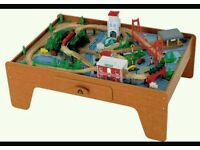 Elc train table with track