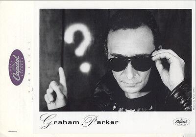 GRAHAM PARKER – Burning Questions 1992 PRESS KIT + PHOTO