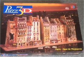 MB Puzzle 3D- Paris Quai de mégisserie